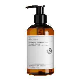 Kadaka, laimi ja sidrunilõhnaline aromaatne pesuvahend kätele ja kehale