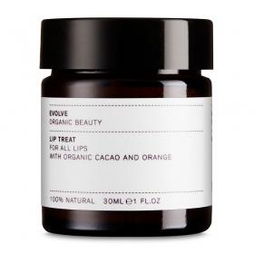 Huulepalsam orgaanilise kakao ja apelsini õliga kõikidele nahatüüpidele