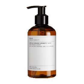 Aafrika veriapelsini ja seedripuu lõhnaline aromaatne pesuvahend kätele ja kehale 250ml