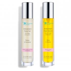 Antioxidant Face Serum + Antioxidant Face Gel / Antioksüdandi näoseerum ja näogeel 2x35ml