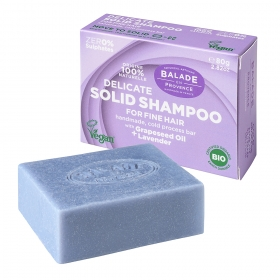 Solid Shampoo Lavender for women 80g