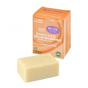 Solid Shampoo Orange Flower for women 40g/Tahke šampoon Orange Flower naistele