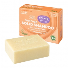 Solid Shampoo Orange Flower for women 80g/Tahke šampoon Orange Flower naistele
